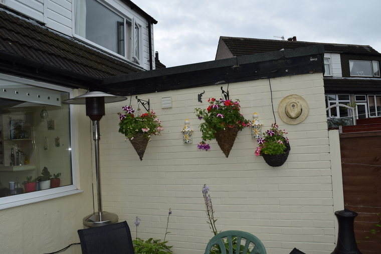 more hanging baskets