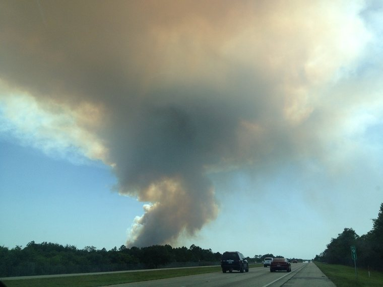 Everglades Fire, Florida
