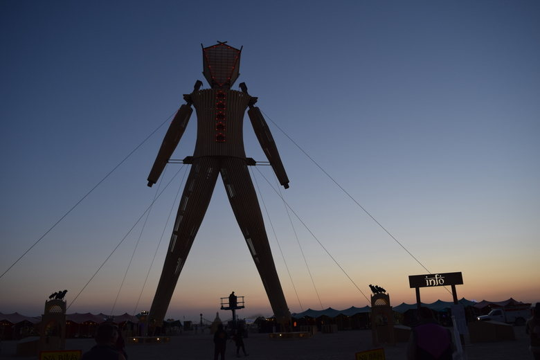Burning Man - The Man 2014