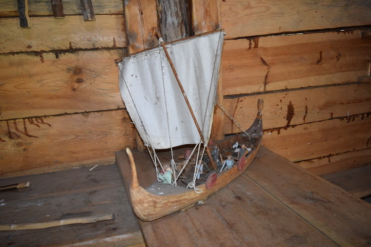 Viking ship in Stavgard on Gotland