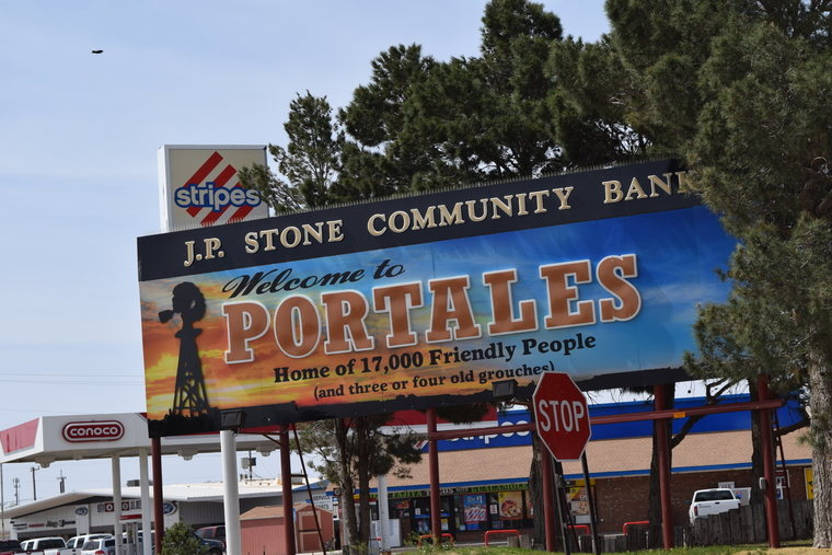 Portales billboard