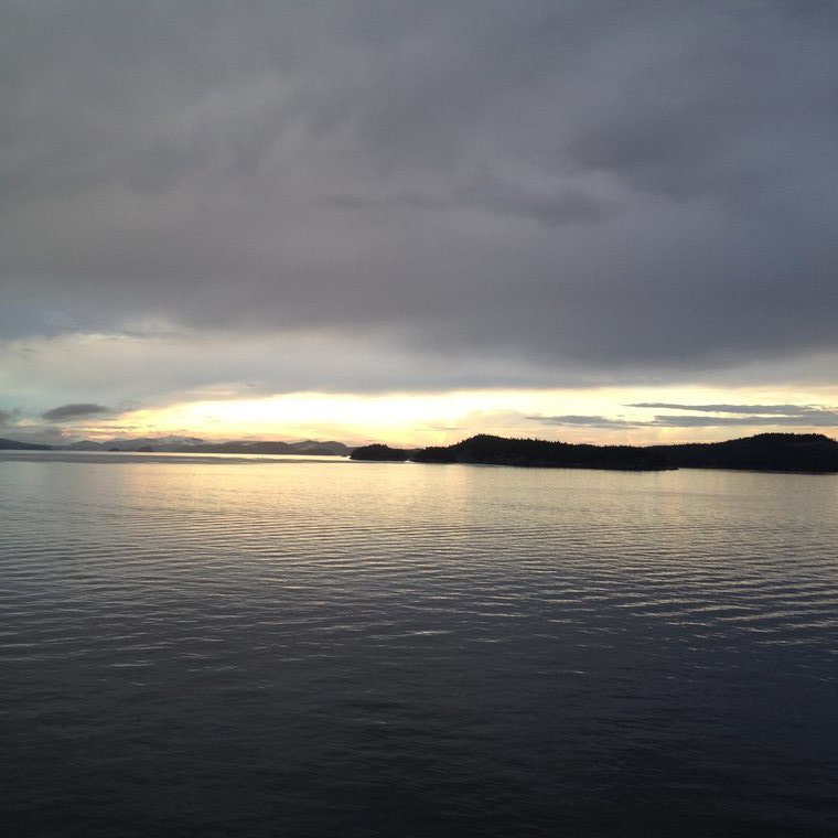view from Victoria ferry
