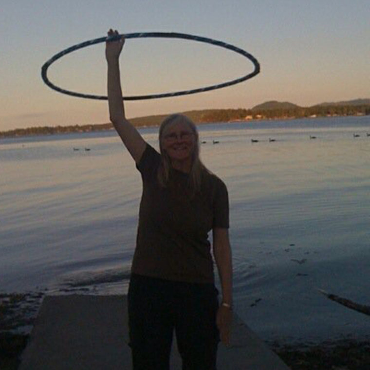hooping at Rathtrevor