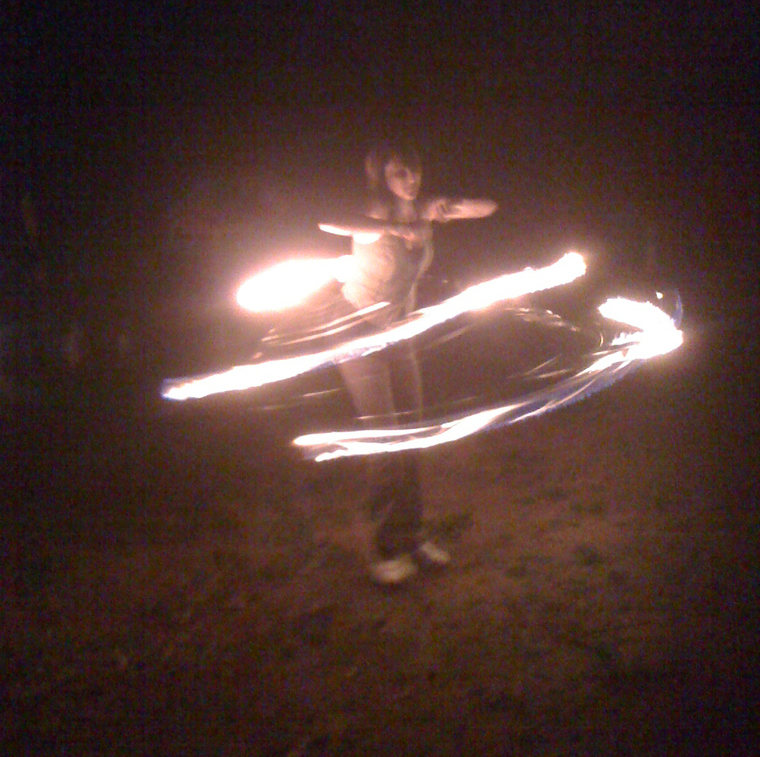 cool parent - 2011 fire spinning