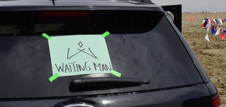Going to Waiting Man (Burning Man 2014)