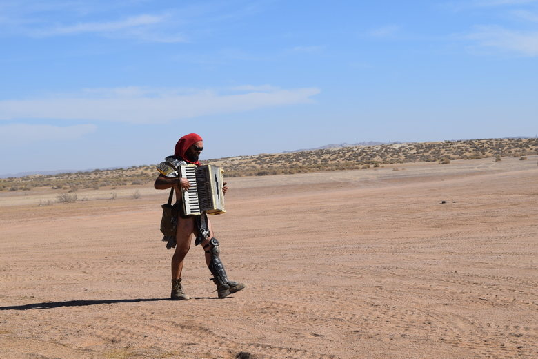 Accordionist of the Wastes