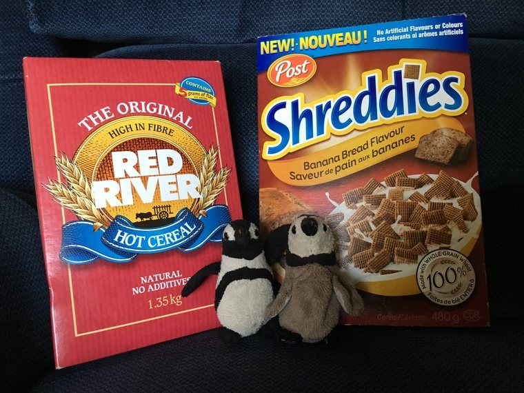 Red River cereal & Shreddies