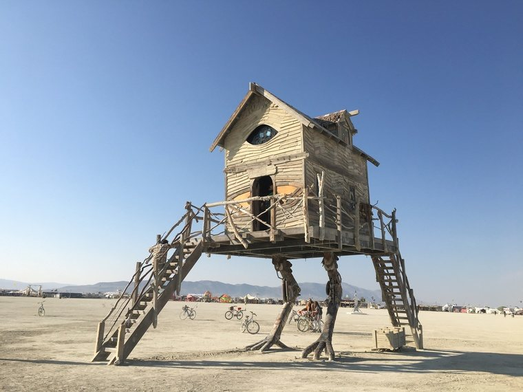 Baba Yaga's House by Jessi Sprocket Janusee and Baba Yaga's Book Club from Sparks, Nevada.