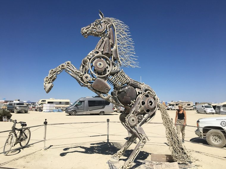 Rearing Horse by Barry Crawford from Elko, Nevada.